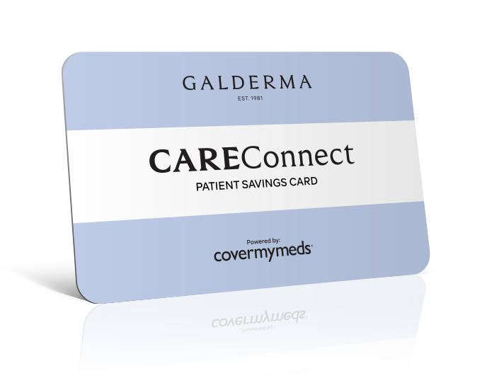 Galderma CareConnect Patient Savings Card